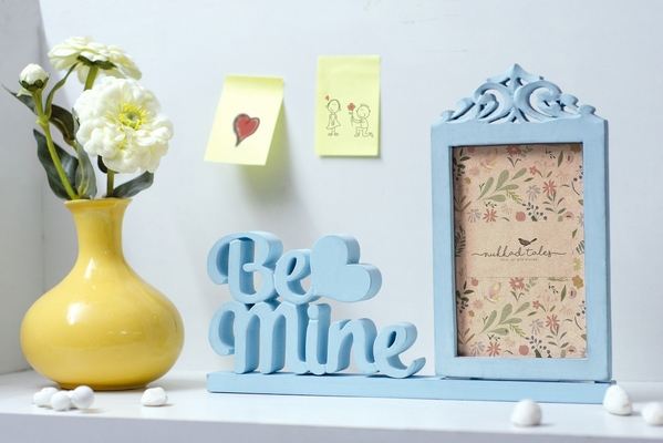 Be mine wooden Photo Frame