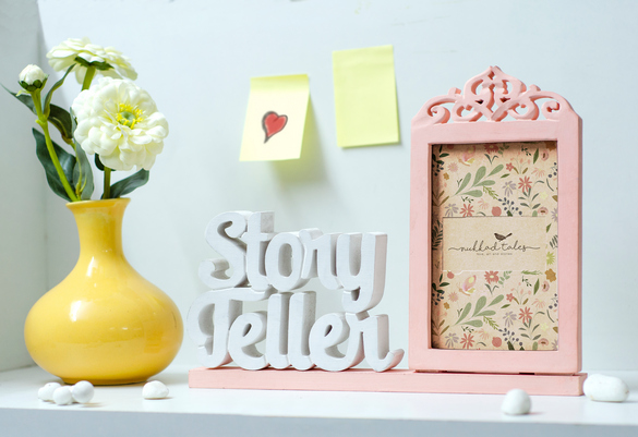 Story Teller Wooden Photo frame