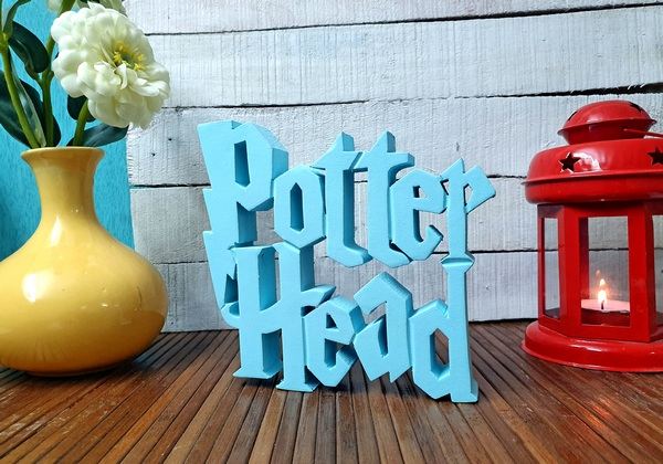 Potter Head wooden tabletop